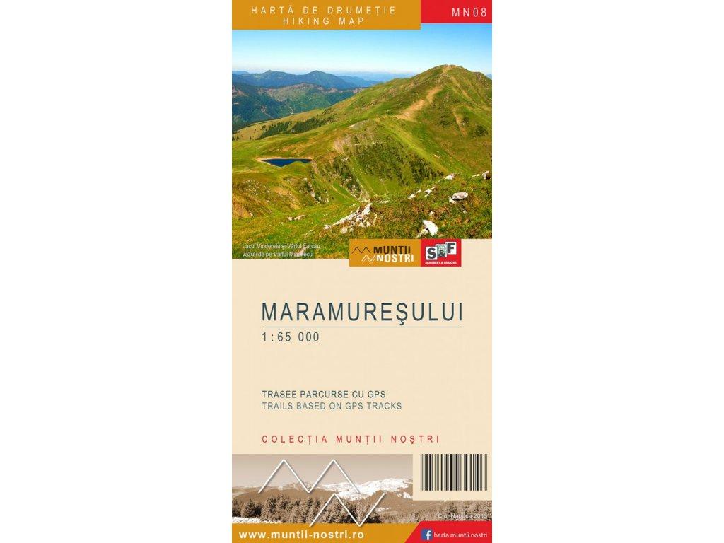 Maramures(ROM)/tur.mapa 1:65t M.Nost