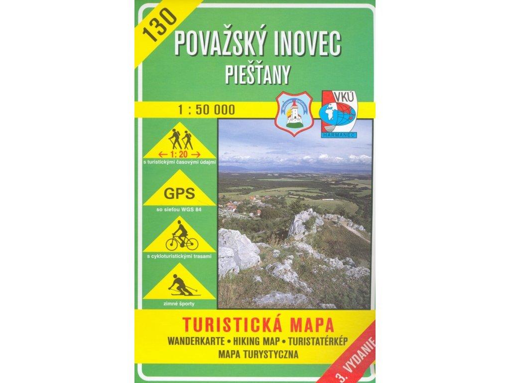 VKU 130 Povážský  Inovec tur.mapa 1:50t