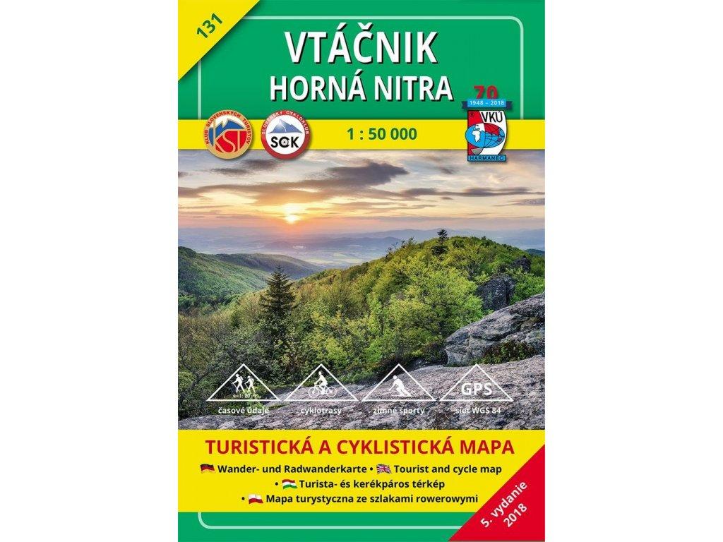 VKU 131  Vtáčník tur.mapa 1:50t