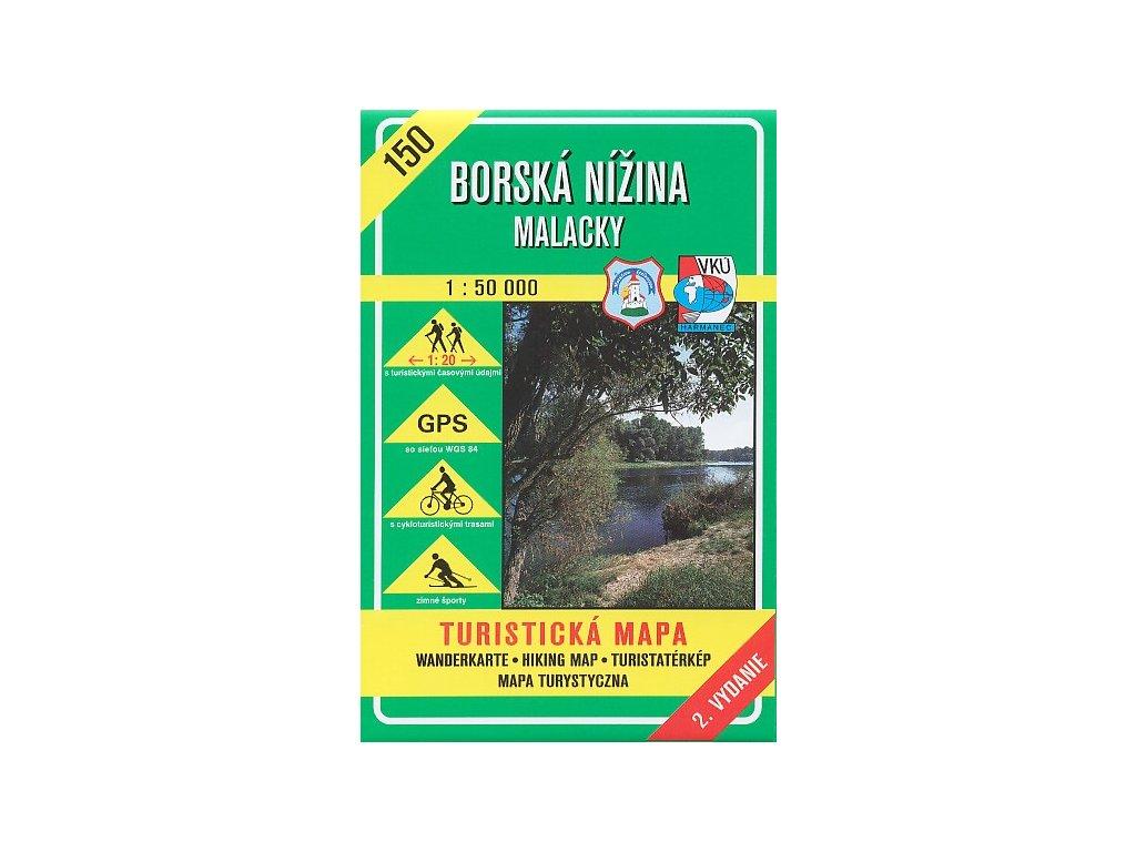 VKU 150  Borská nížina tur.mapa 1:50t