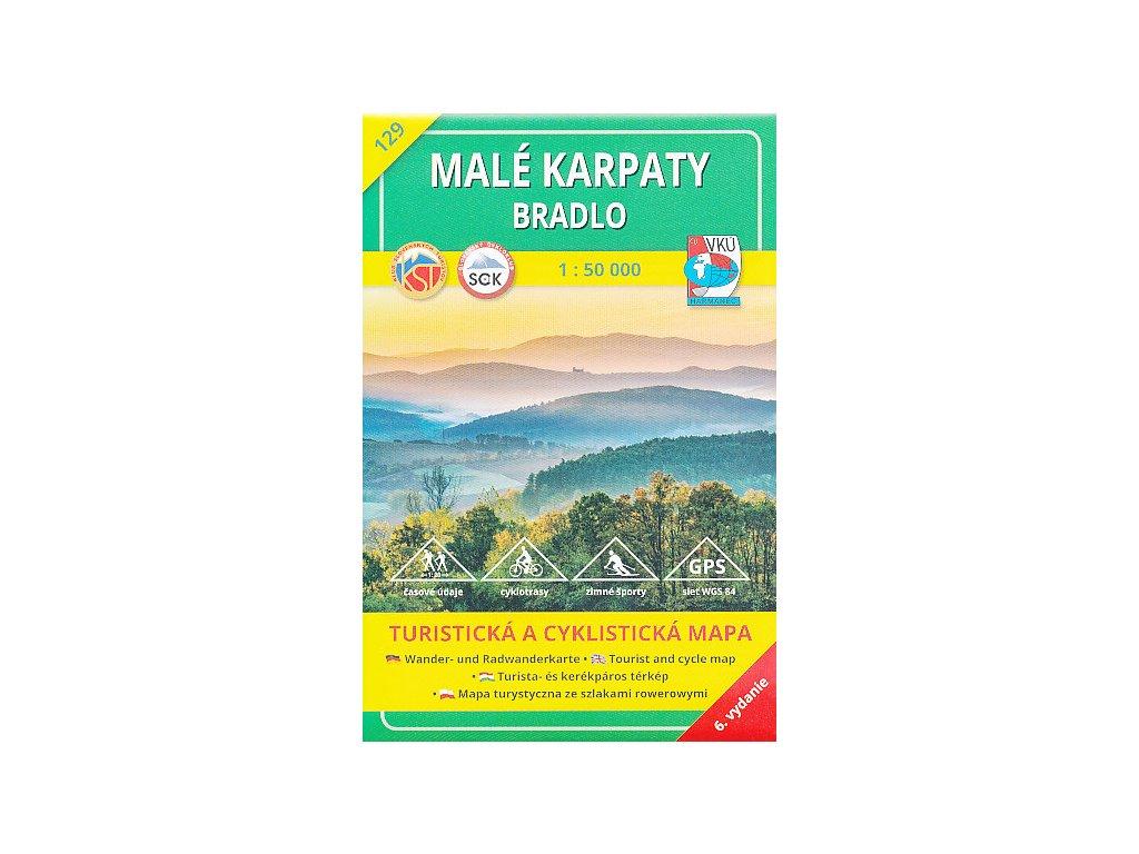 VKU 129 Malé Karpaty,Bradlo tur.mapa 1:5