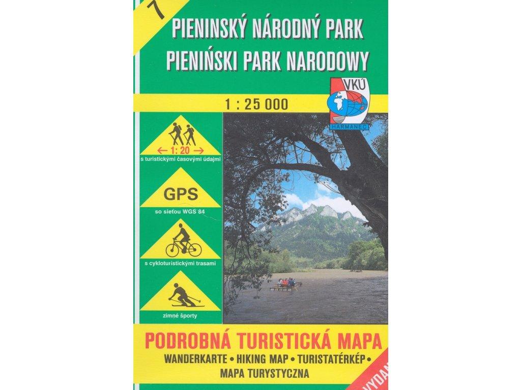 VKU 7   Pieninský národní park 1:25t