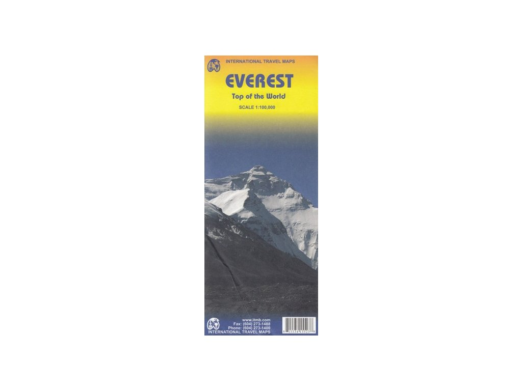 Everest / mapa 1:100t ITM