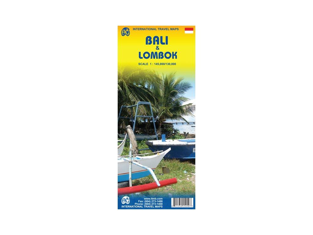 Bali a Lombok 1:145tis, 1:130tis. ITM
