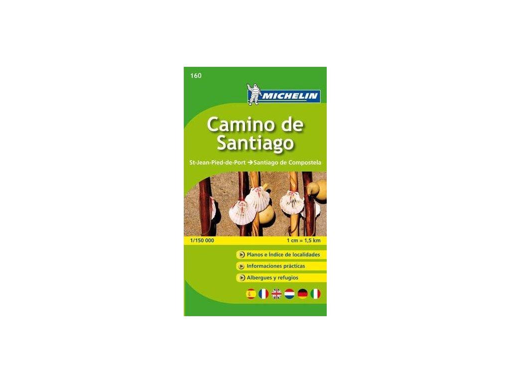 Camino de Santiago/mapa 1:150t Michelin