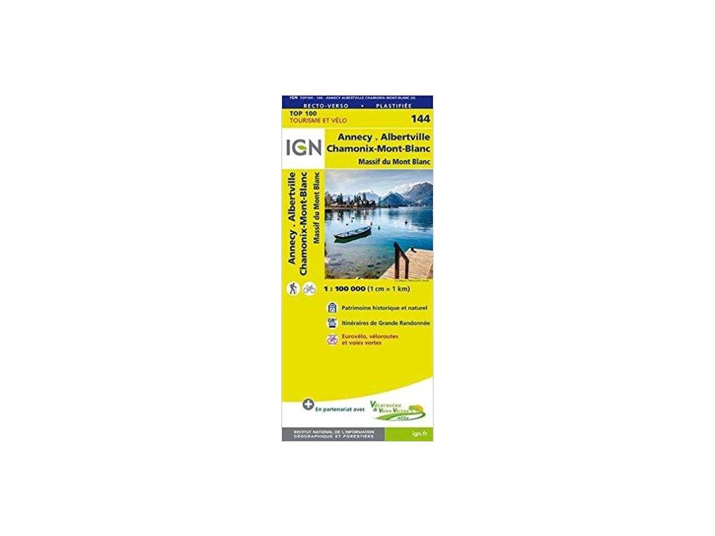 IGN 144 Annency/Thonon-les-Bains