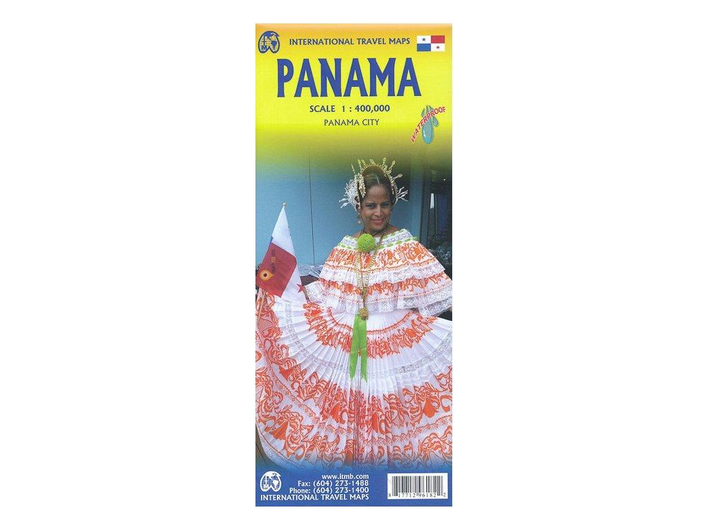 Panama / mapa 1:400tis ITM