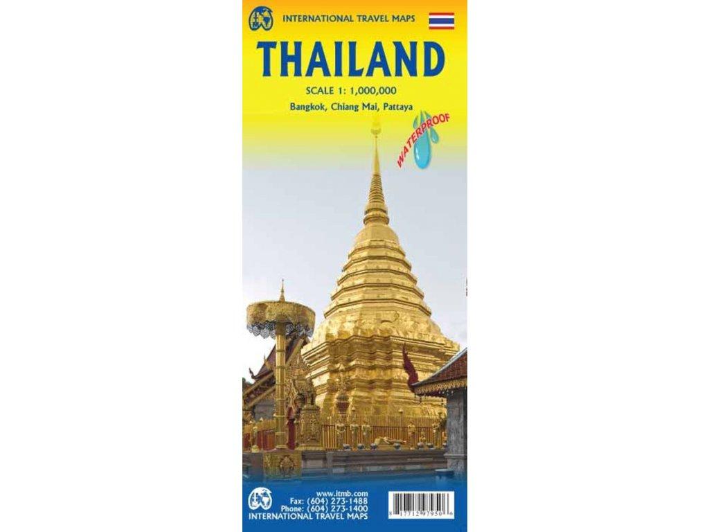 Thajsko /mapa 1:1mil.  ITM