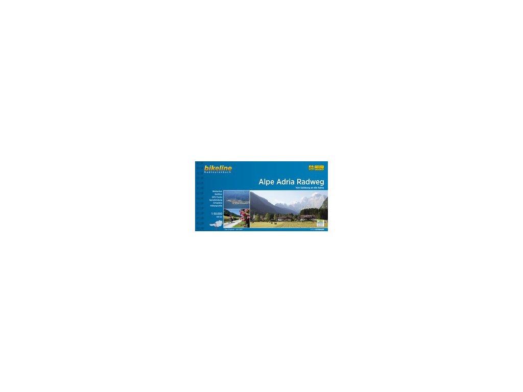 Alpe Adria Radweg/cykloatlas Bikeline