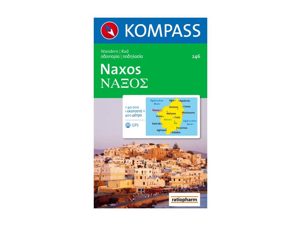 KOM 246 Naxos 1:40t tur.mapa