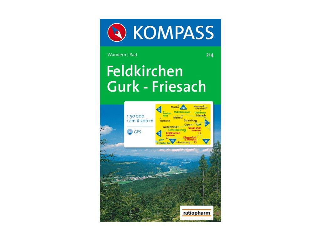 KOM 214 Feldkirchen Gurk - Friesach