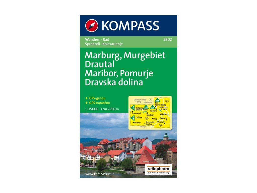 KOM 2802 Marburg-Pomurje-Drautal 1:75t