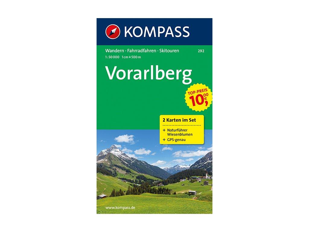 KOM 292 Vorarlberg /2mapy set