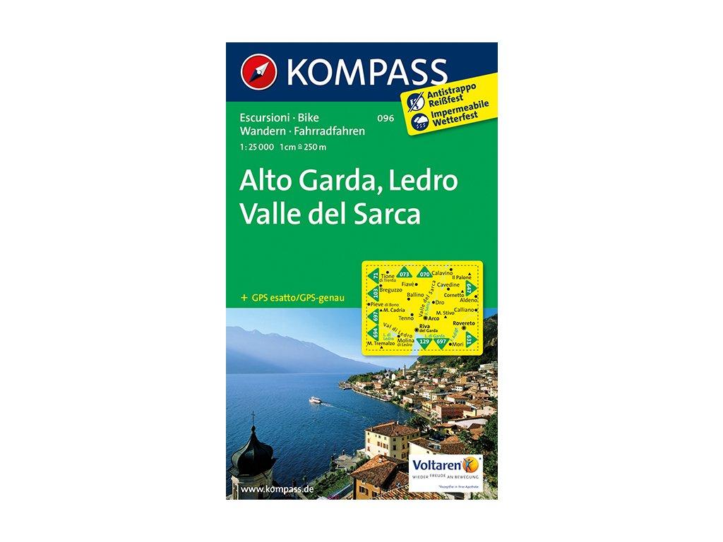 KOM 096 Alto Garda,Ledro 1:25t
