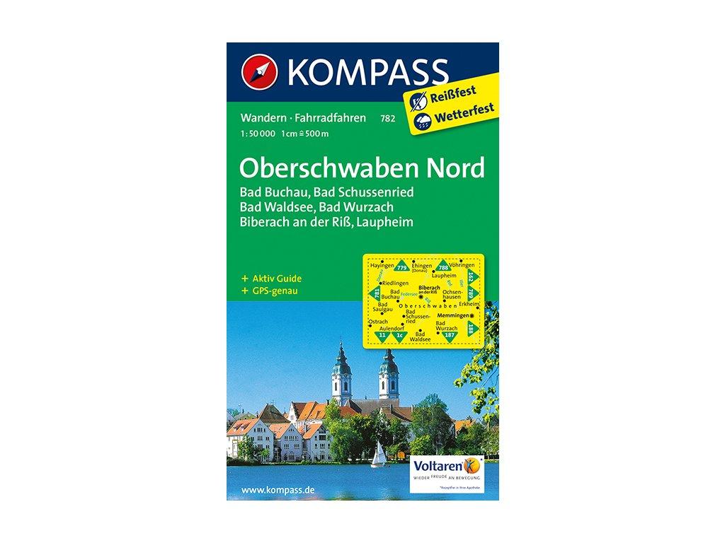 KOM 782 Oberschwaben Nord 1:50 tis.