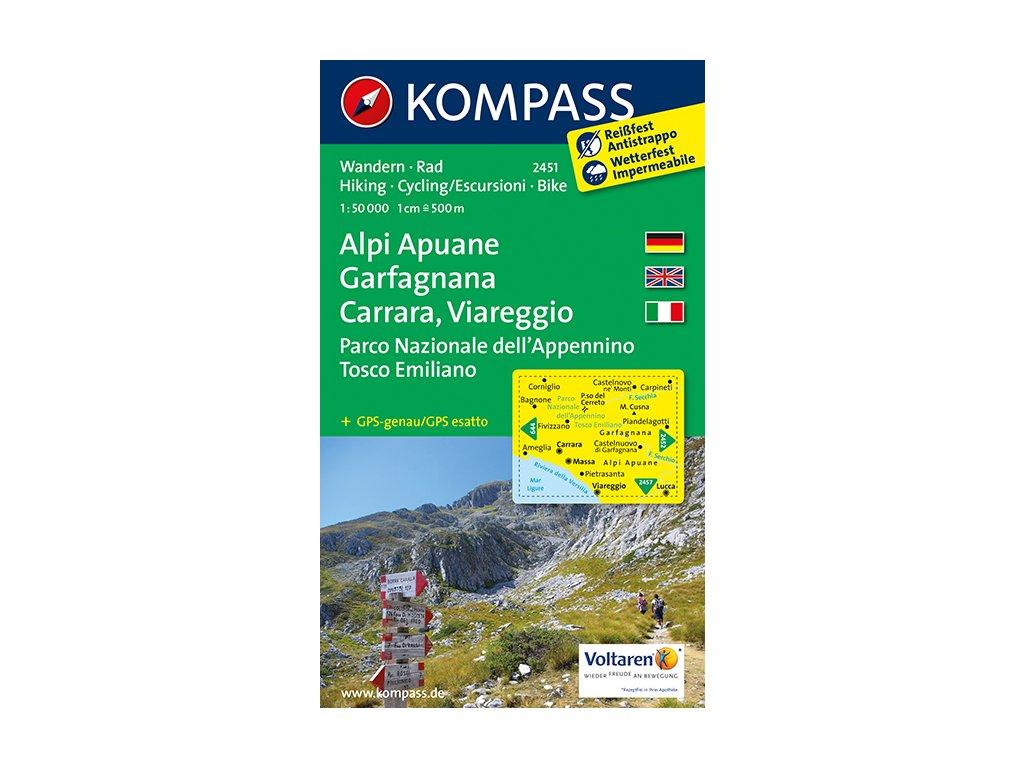 KOM 2451 Alpi Apuane, Garfagnana,...