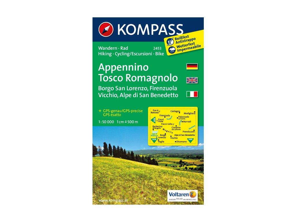 KOM 2453 Appennino Tosco Romagnolo