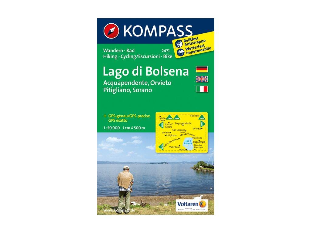 KOM 2471 Lago di Bolsena 1:50t