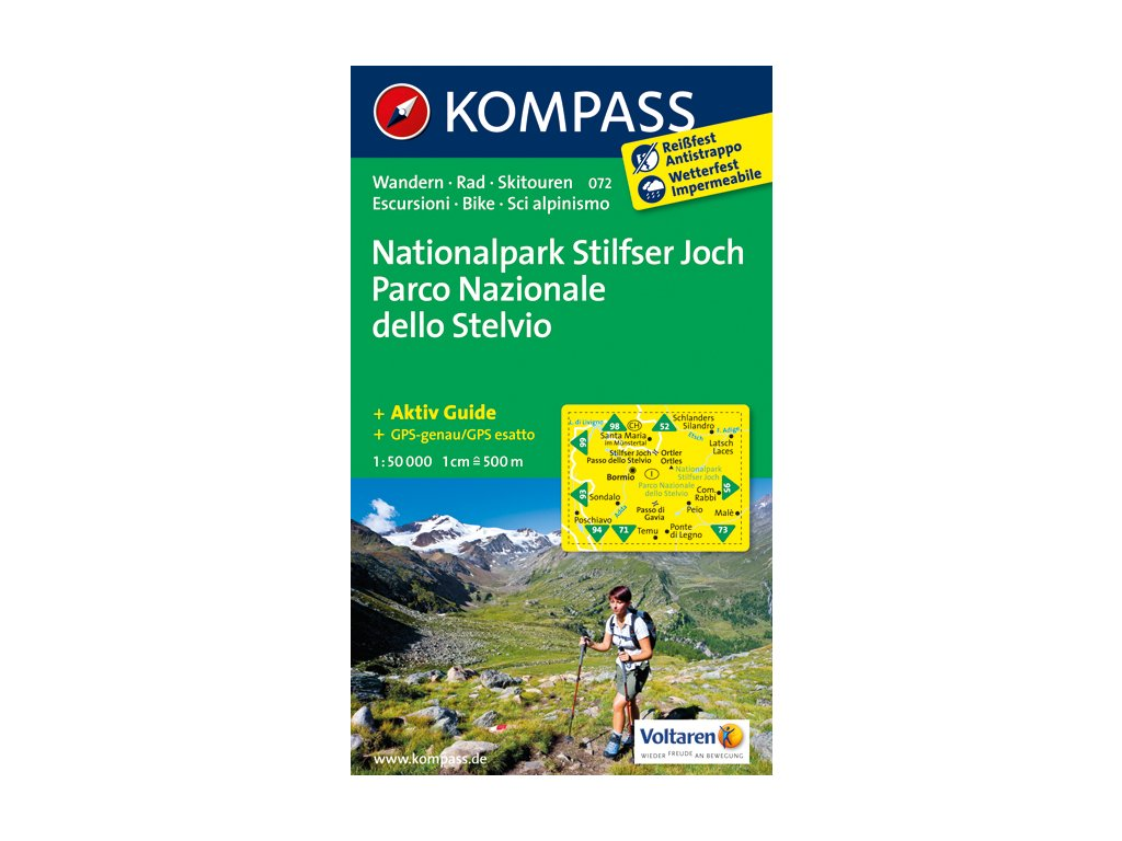 KOM 072 Nationalpark Stilfser t.m. 1:50t