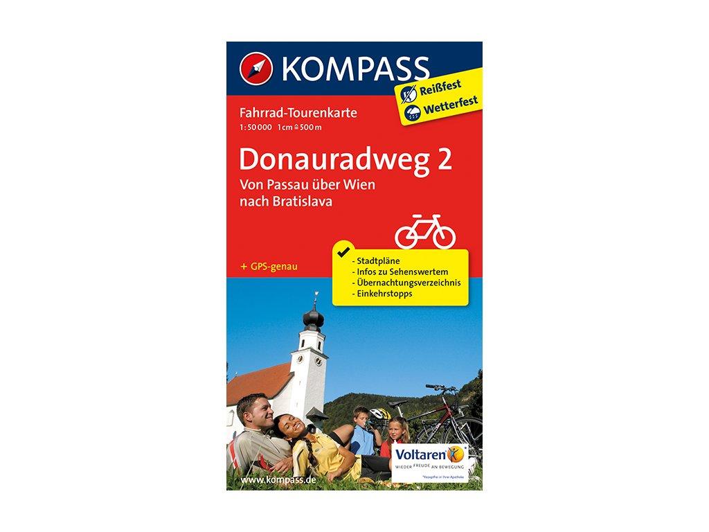 KOM 7004 Donauradweg 2 Passau - Bratislava