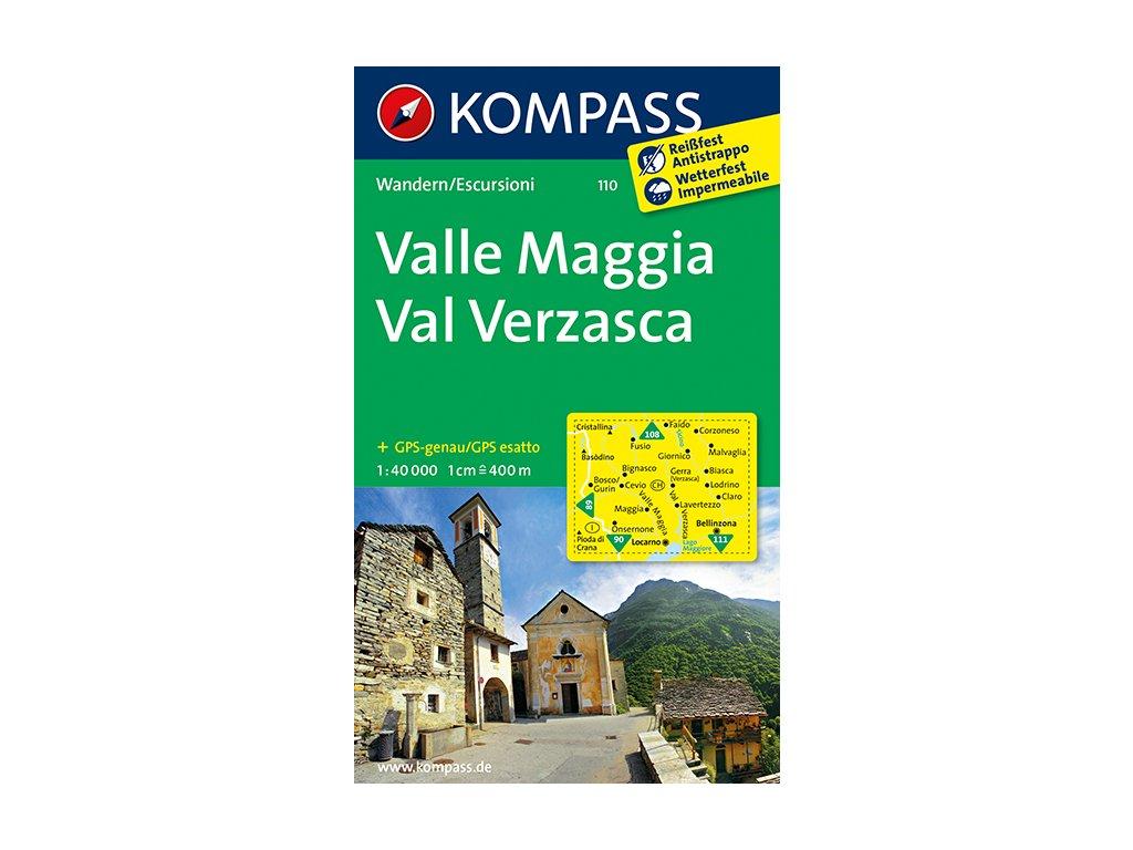 KOM 110 Valle Maggia-Val Verzasca 1:50t