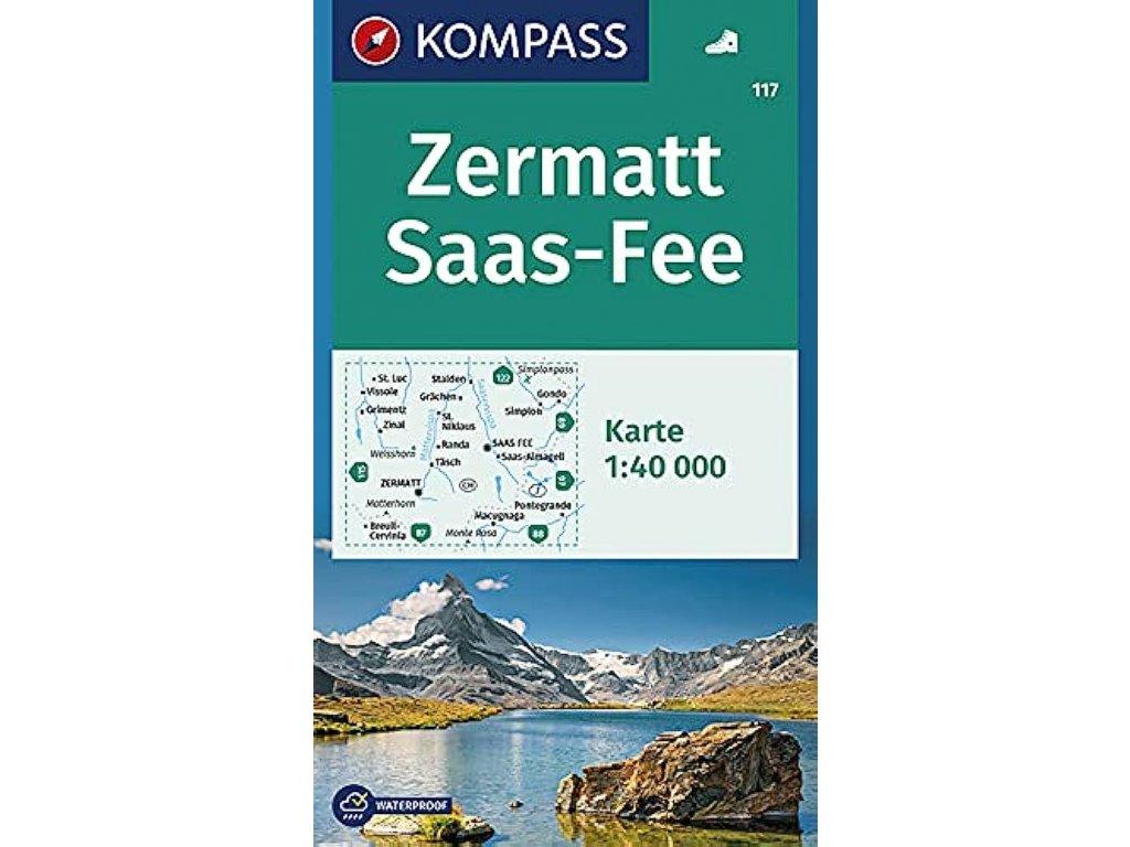 KOM 117 Zermatt - Saas Fee 1:50T
