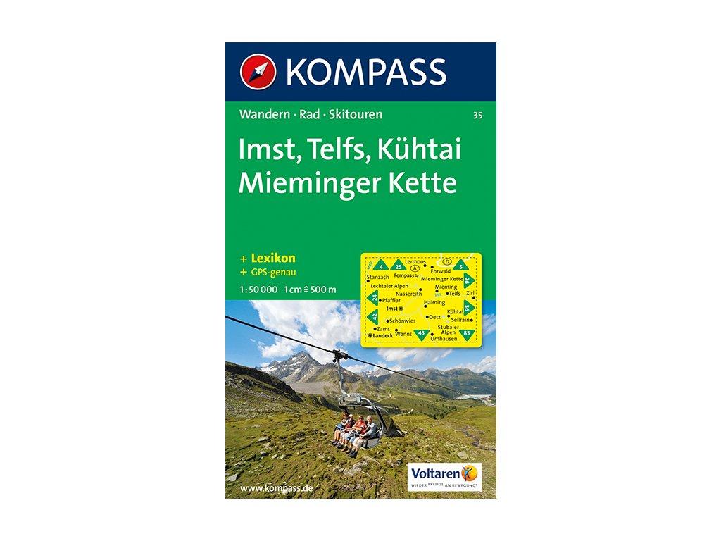 KOM 35 Imst-Telfs-Kuhtai-Mieminger Kette 1:50t