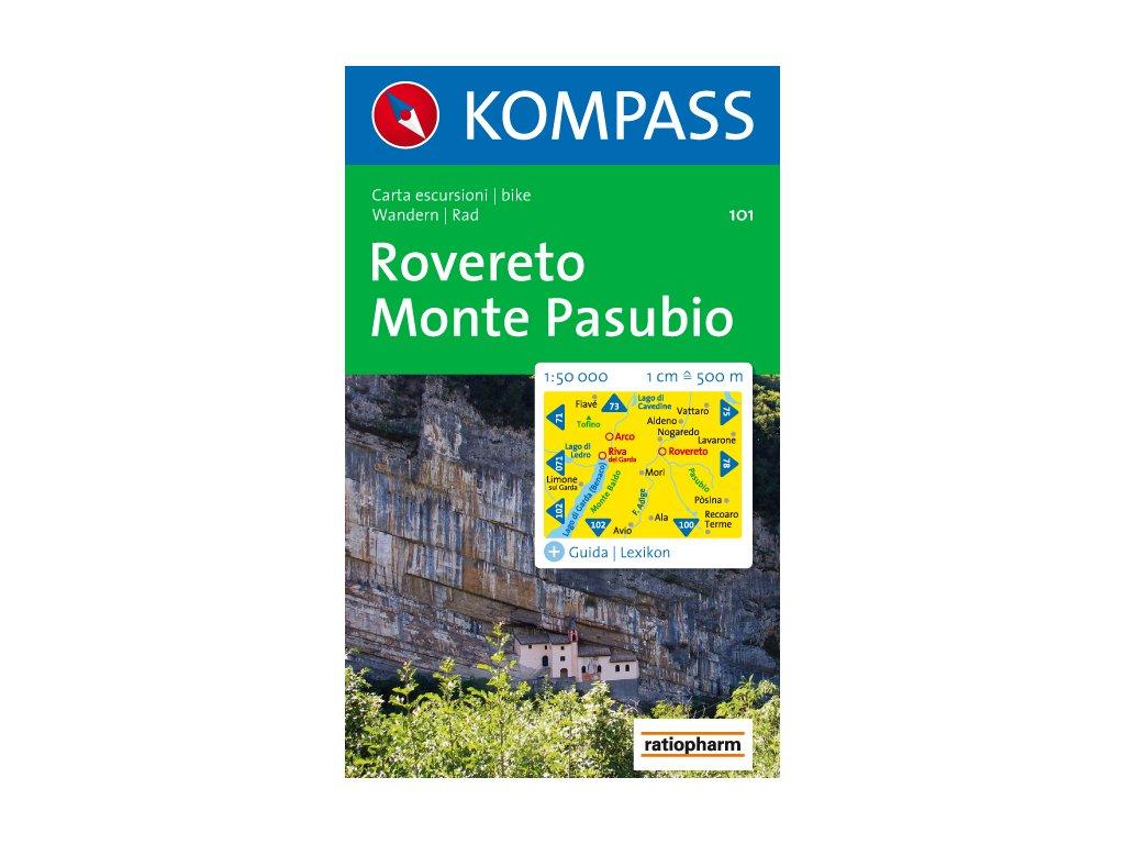KOM 101 Rovereto Monte Pasubio 1:50t