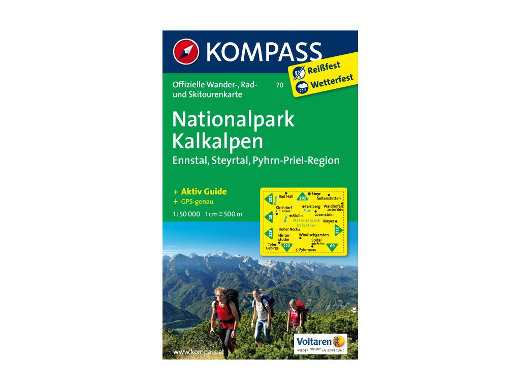 KOM 70 Nationalpark Kalkal.t.m. 1:50t
