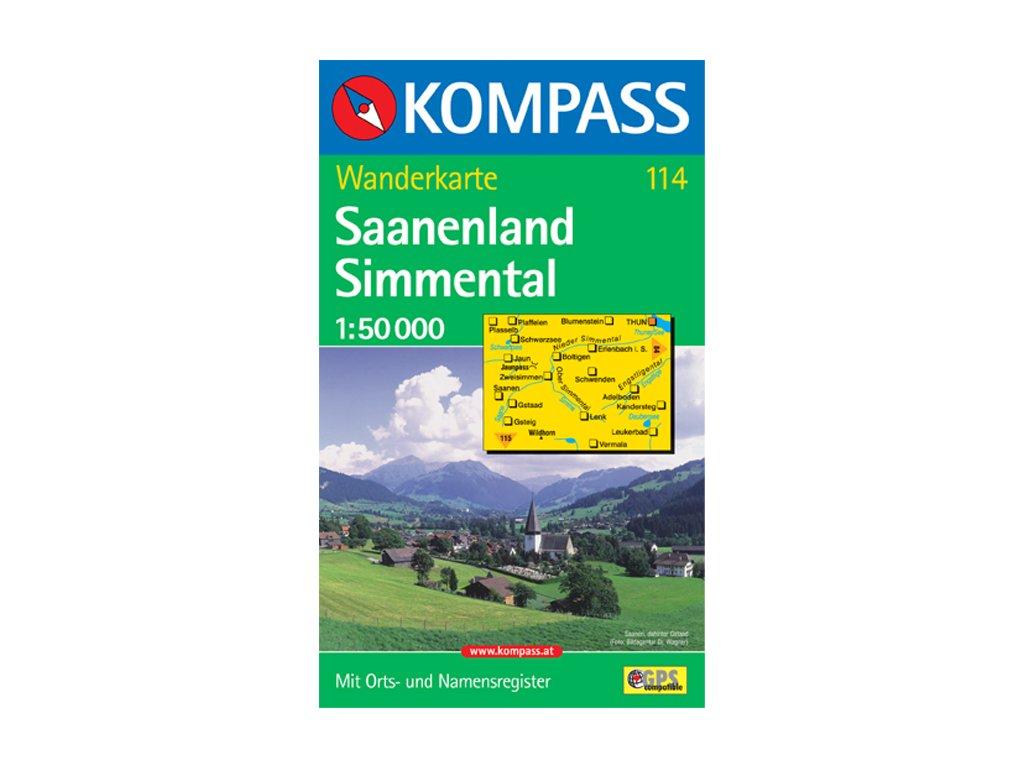 KOM 114 Saanenland-Simmental 1:50t
