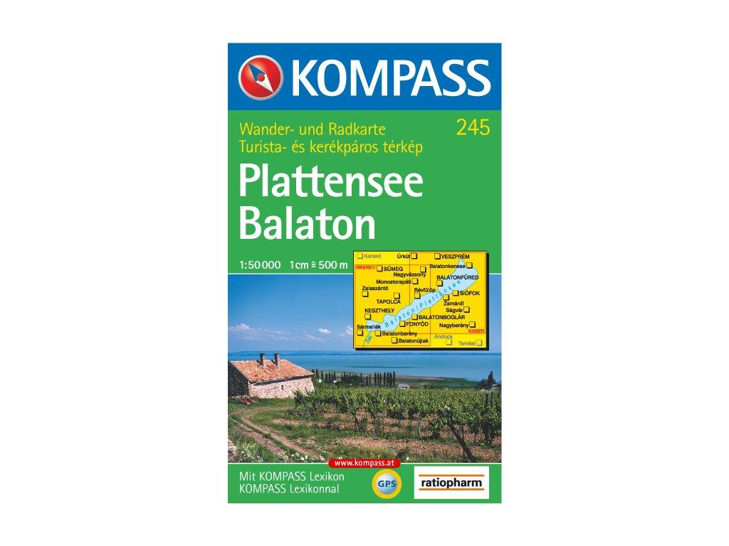 KOM 245 Plattensee Balaton /tur.mapa