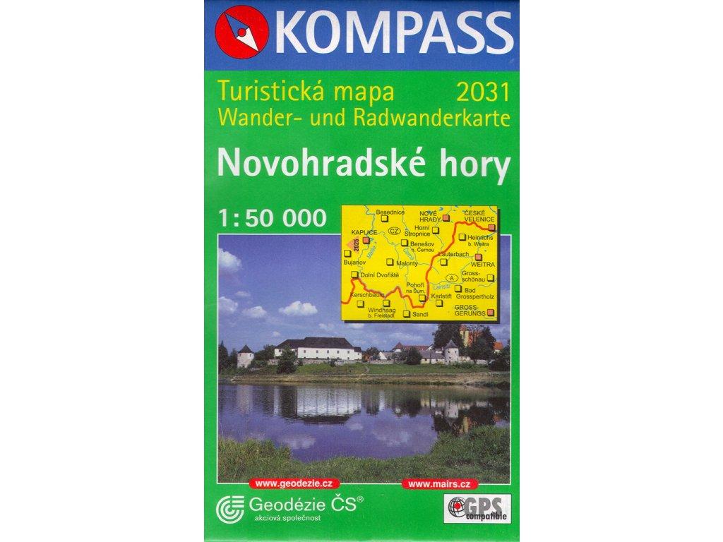 NKOM 2031 Novohradské hory 1:50T