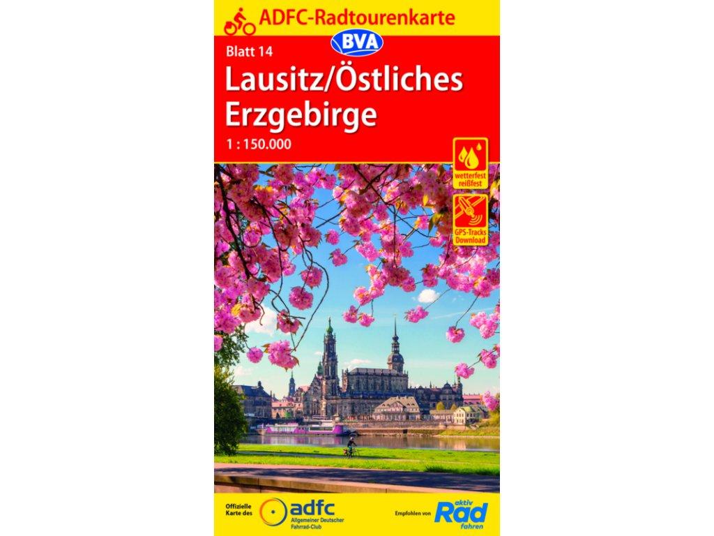 Lausitz,Ost.Erzgeb/cyklo 1:150 ADFC č.14