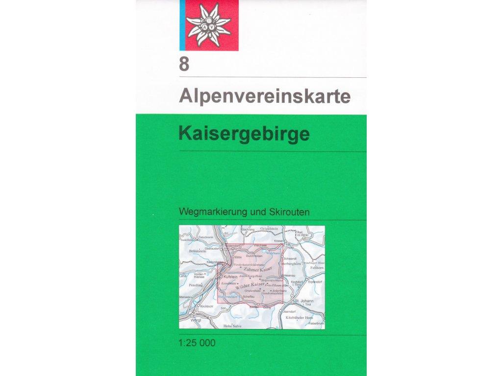 AV8 Kaisergebirge 1:25t