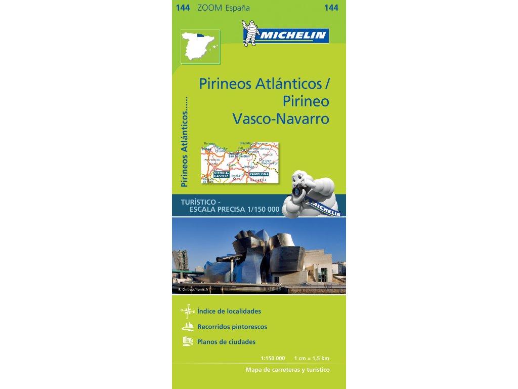 MK 144 Pirineos Atlanticos / mapa 1:150t