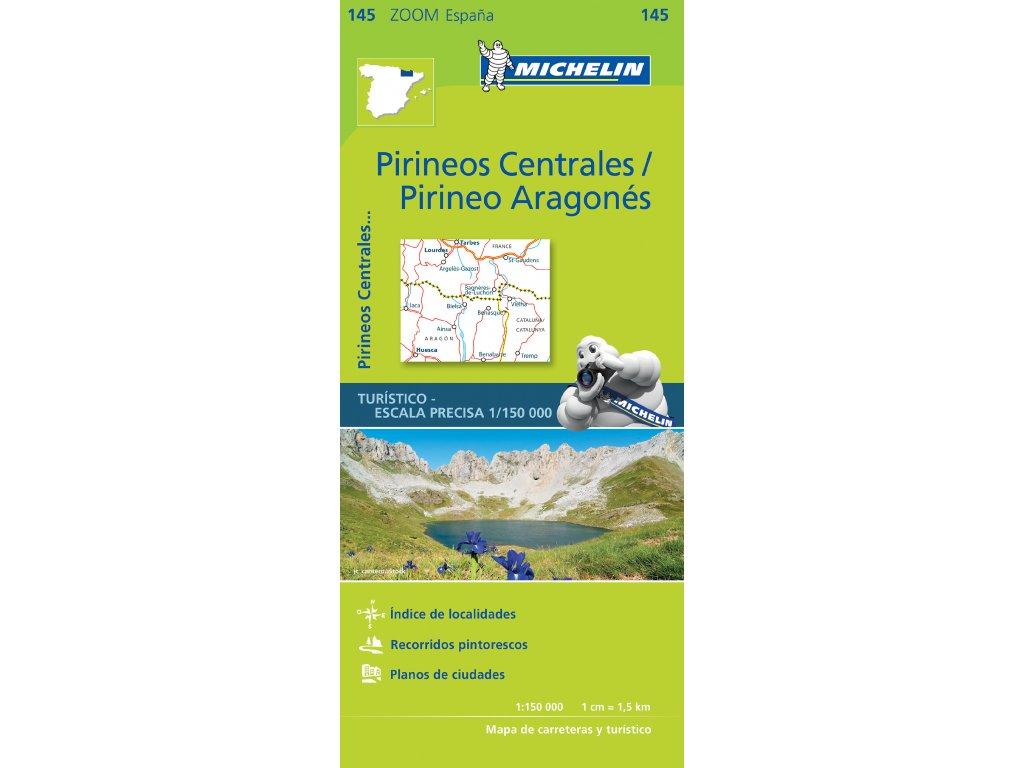 Mk 145 Pirineos Centrales / mapa 1:150t