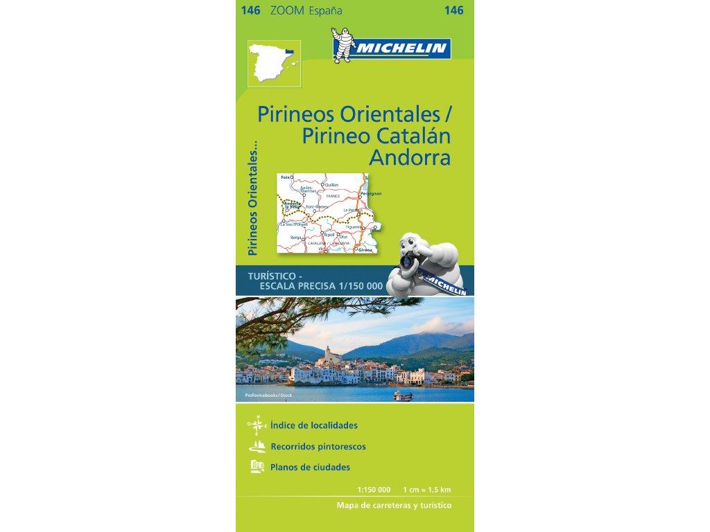 MK 146 Pirineos Orientales / mapa 1:150t