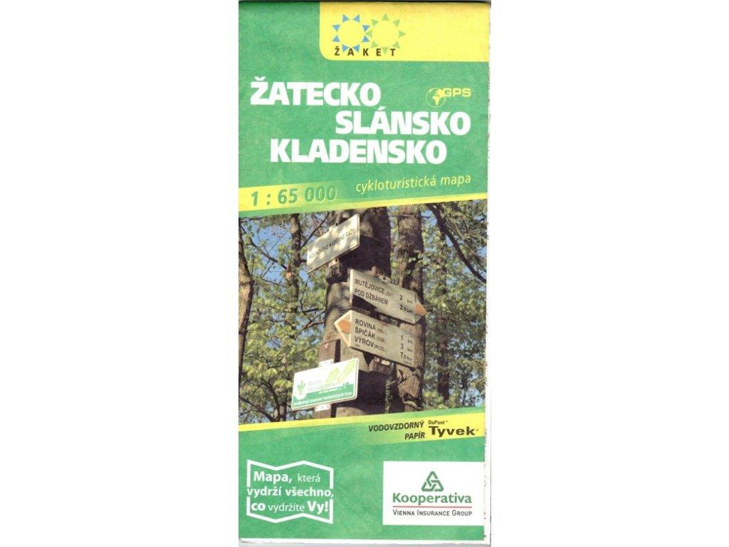 Žatecko-Slánsko-Kladensko/cyklo 1:65t ža