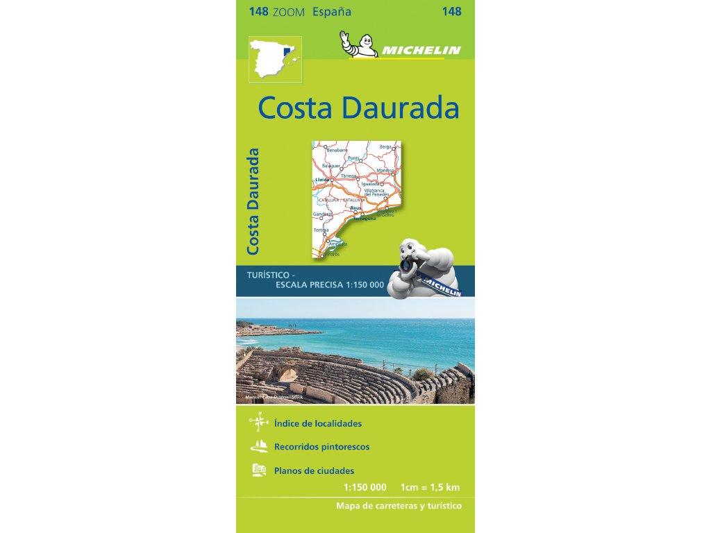 MK 148 Costa Dauruda, mapa  1:150t
