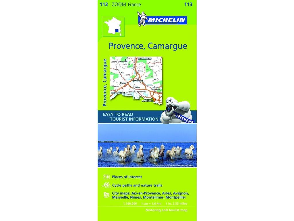 MK 113 Provence 1.160t mapa Michelin