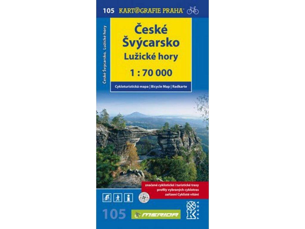CM 105  České  Švýcarsko 1:70T nové