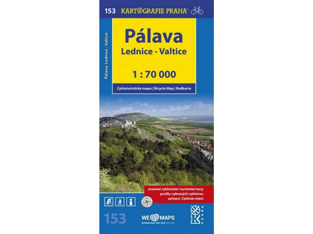 CM 153   Pálava- Lednice,Valtice 1:70T nové