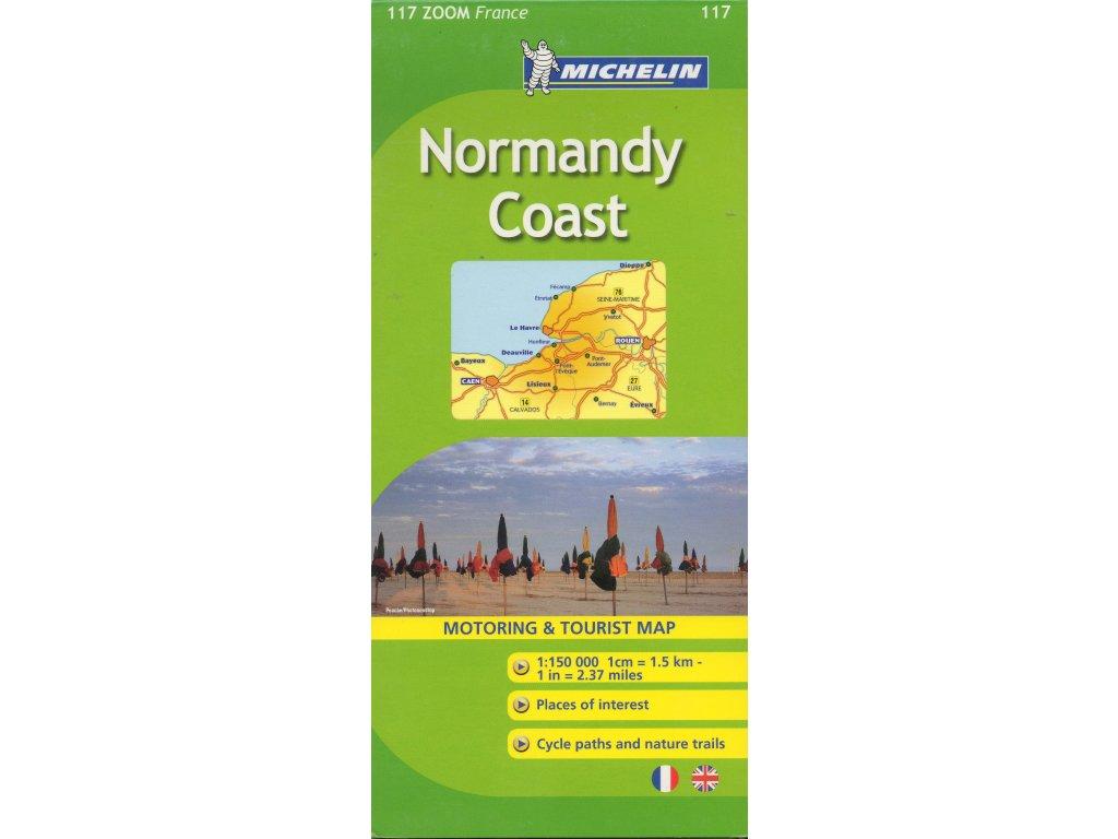 MK 117,  mapa  Normandie