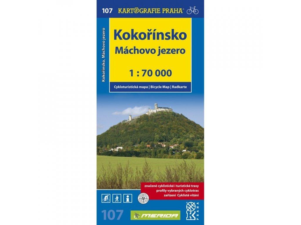 CM 107  Kokořínsko, Máchovo jezero  1:70T