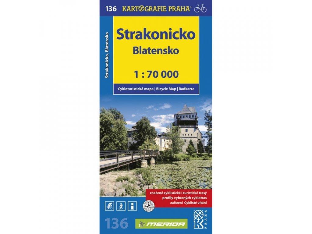 CM 136  Strakonicko, Blatensko  1:70  nové