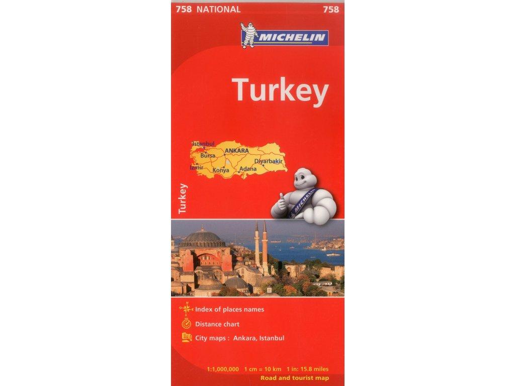 Turecko / automapa Michelin 1:1M