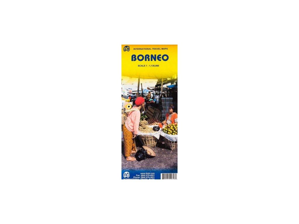 Borneo / mapa 1:1,3Mio ITM
