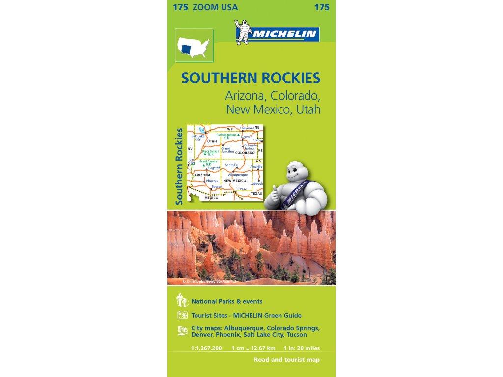 MK 175 USA Southern Rock./mapa 1:1,267t