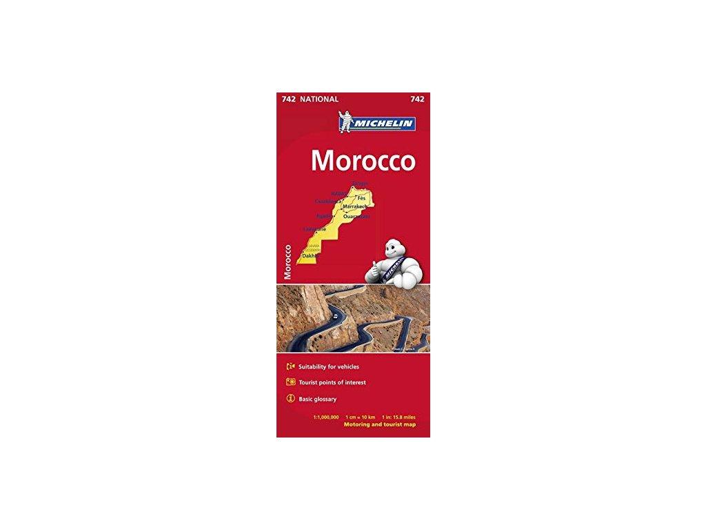 Maroko /automapa Michelin 1:1M