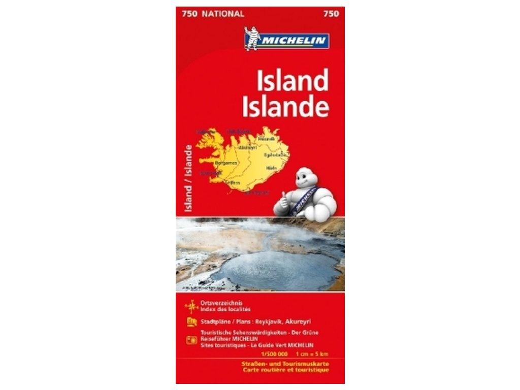 Island / mapa 1:500t M750